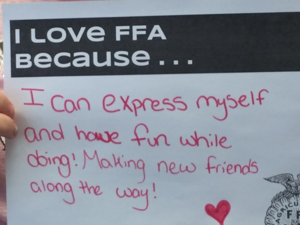 Love FFA Express Myself