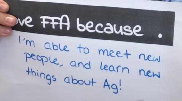 Love FFA Learn New Ag